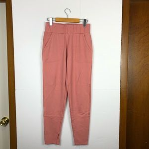 NWT Peaceful Energy Pink Joggers Sz M